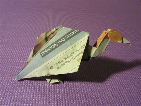 Origami Vulture - free photo origami vulture paper animal free image