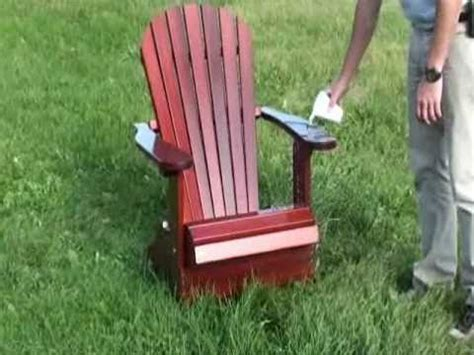 how to stain adirondack chairs the best adirondack chair treatment