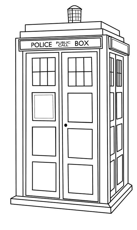 doctor who template tardis template