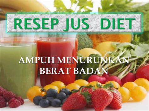 Jus Detox Untuk Menurunkan Berat Badan by Resep Jus Sayur Menurunkan Berat Badan Rcs