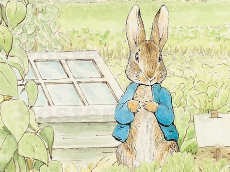 Scandinavian Dining Room beatrix potter peter rabbit poster posterlounge