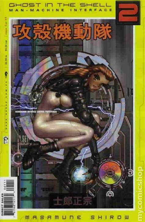 manmachine interface ghost ghost in the shell 2 man machine interface 2003 comic books