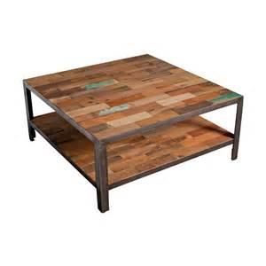 table basse carr 233 e plateau industriel fabrik