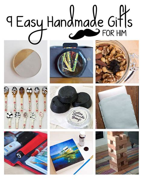 best 25 handmade gifts for him ideas on