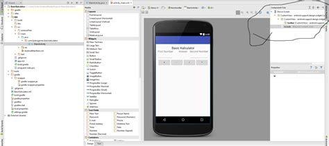 android studio layout widget java unable to access my widgets in android studio