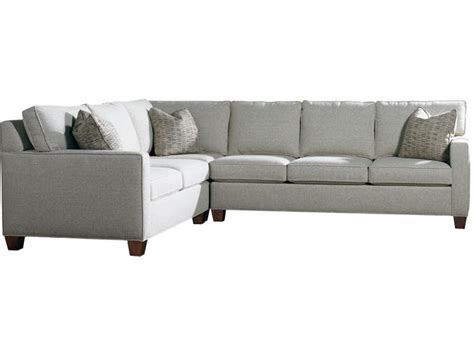 sherrill sectional sherrill furniture living room sectional 3100 sect louis