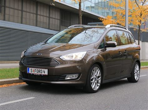Ford Grand C Max Abmessungen by Ford Grand C Max 2 0 Tdci Automatik Testbericht Auto