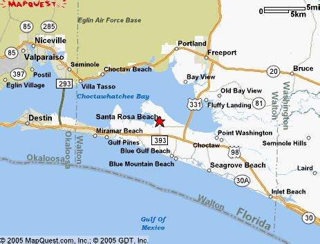 Santa Rosa County Florida Records Santa Rosa Florida Map My