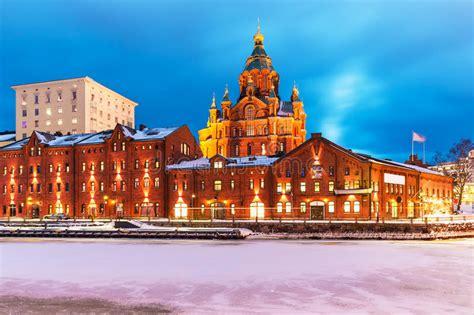 fotos helsinki invierno invierno en helsinki finlandia imagen de archivo imagen