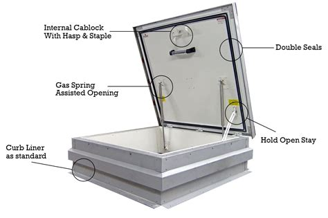 Ceiling Access Hatch by Premium Roof Access Hatches High Spec Roof Access Covers