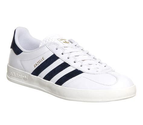 adidas gazelle indoor vintage white leather exclusive