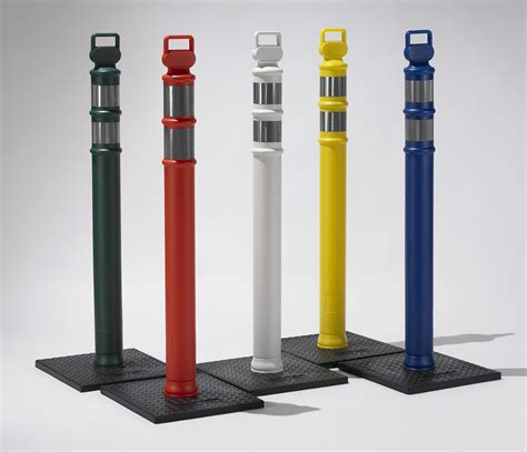 Pipe And Drapes Ez Grab Traffic Delineator Posts Discount Directionals