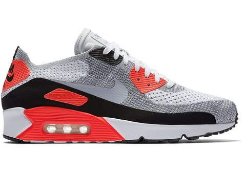 Nike Airmax90 9 air max 90 ultra flyknit 2 0 infrared