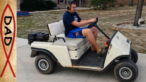 ezgo golf cart motor gas ez go golf cart upgrade and fix