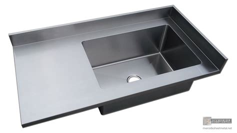stainless with stainless steel 4 finish counter top with integrated