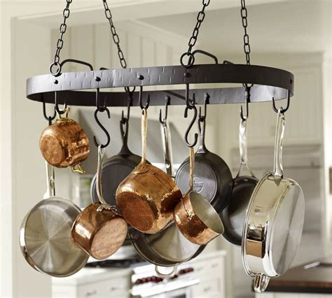 Ceiling Pot Holder by Vintage Blacksmith Pot Rack Traditional Pot Racks And