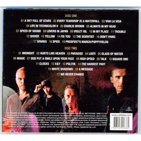 coldplay best hits album greatest hits by coldplay cd x 2 with techtone11 ref