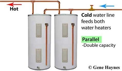 two water heaters plumbing diagram two water heaters plumbing diagram plumbing and