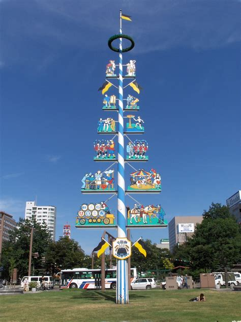 A Maibaum Of Your Own by File Maibaum Sapporo Jpg Wikimedia Commons