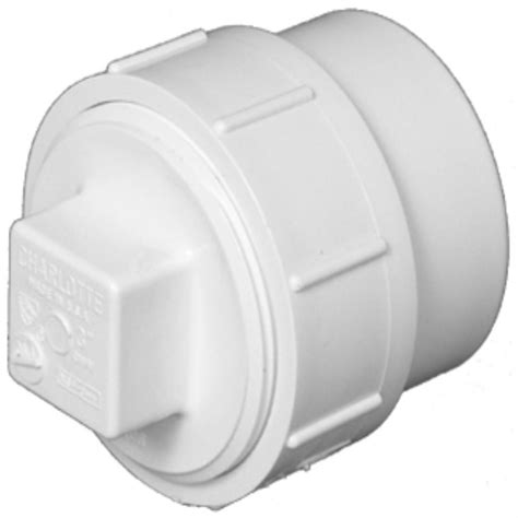 Clean Out Pvc 4 pipe 6 in dwv pvc ftg cleanout adapter with