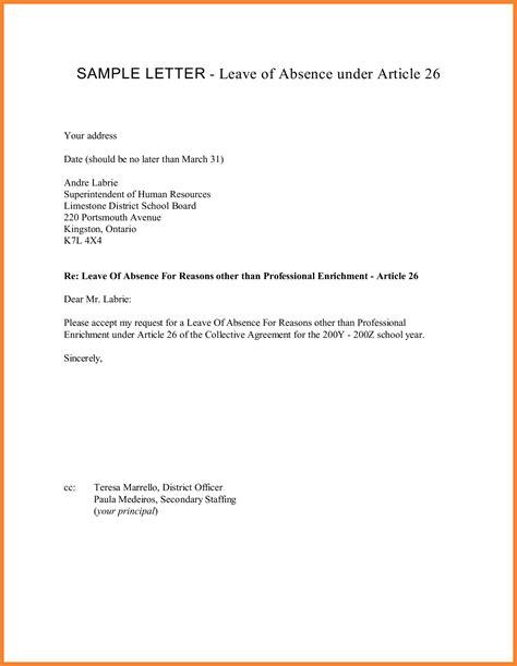 Official Letter Uoa leave of absence letter novasatfm tk