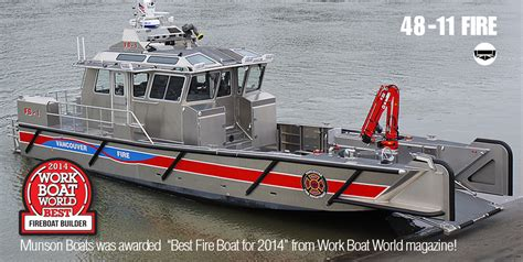 offshore work boats for sale munson 48 series custom welded aluminum boats landing