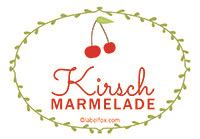 Etiketten Kirsch Marmelade by Gratis Marmeladen Etiketten Als Word Vorlage Zum Download