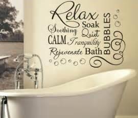 bathtub quotes soak relax vinyl bubbles bath quote large vinyl