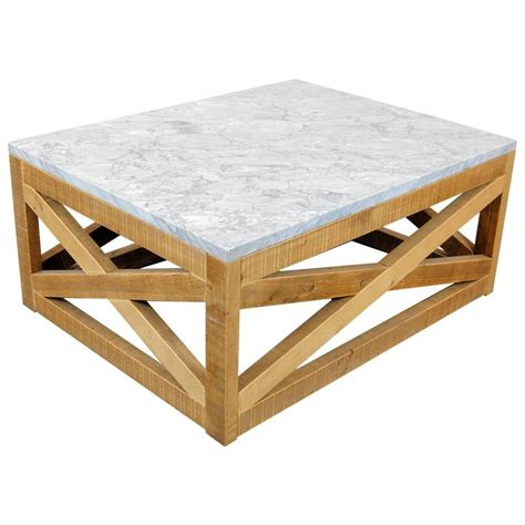 marble and wood coffee table by michelangeli italy for