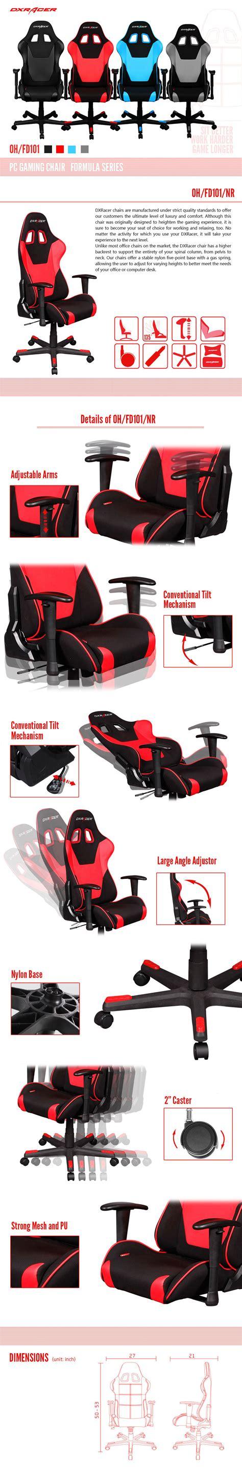 Dxracer Origin Series Ohoc168ne Black Green dxracer formula series gaming chair black oh fd101