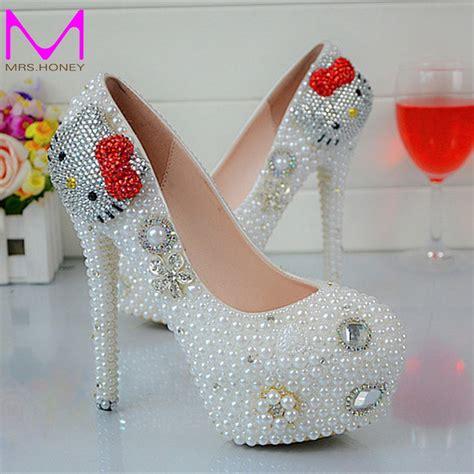 Schuhe Wei Hochzeit by Kaufen Gro 223 Handel Hochzeit Schuhe Wei 223 Aus China