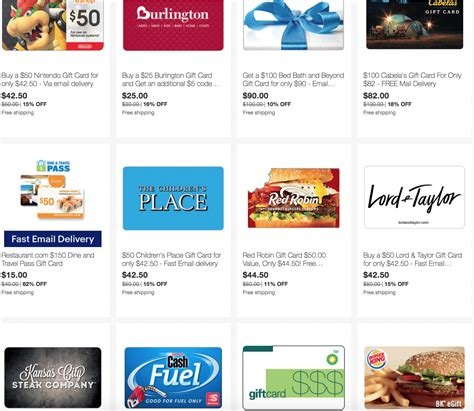 How Many Southwest Gift Cards Can Be Used - ebay save on gift cards for bp speedway children s place bedbath beyond many