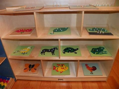 montessori bookshelves 17 best images about montessori shelves on
