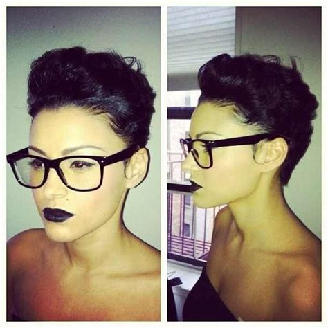 pixie cut curly hair glasses pixie haircut all things hair pinterest pixie