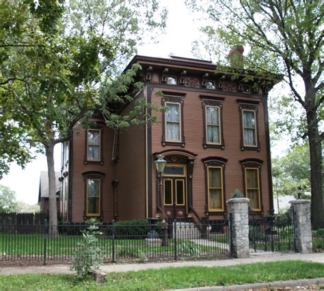 American Foursquare House Plans building language italianate historic indianapolis