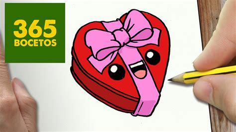 imagenes kawaii para dibujar de amistad como dibujar corazon kawaii paso a paso dibujos kawaii