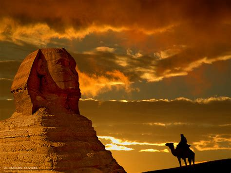 To Do Time In The Desert by Giza Al Omraneyah Giza Governorate Sunset