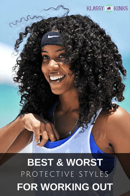 Hairstyles For Working Out by Best And Worst Protective Styles For Working Out Klassy