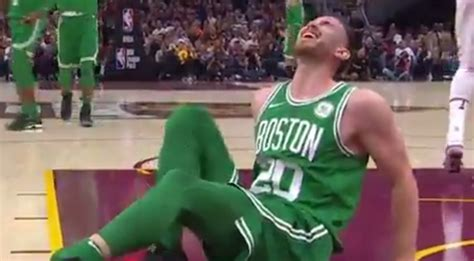 Celtics Giveaways 2017 - video gordon hayward suffers leg injury in boston celtics season opening video