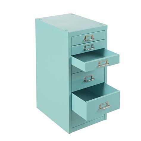 Desktop Filing Cabinet New Spencer Desktop 7 Drawer Office Filing Storage Cabinet A4 Aqua With Wheels Ebay