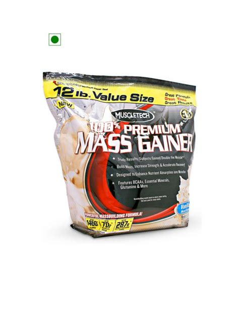 Muscletech Premium Mass Gainer 12 Lb Whey Protein buy bodybuilding supplements in india