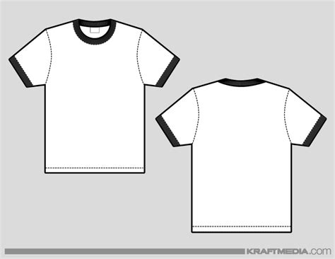 Ringer T Shirt Template Kraftmedia Custom Decorated Merchandise T Shirt Printing Services Download Templates In