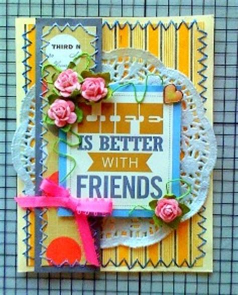 friendship cards for to make friendship cards to make