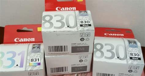 Tinta Canon 830 831 cartridge canon pg 830 cl 831 ikhsan toner