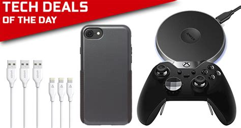 tech deals xbox elite controller free gift card 3 iphone 7 plus lightning cables