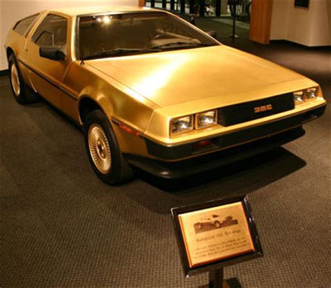 real gold cars golden delorean vin 04301