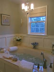 paneling for master bath walls around a tub house