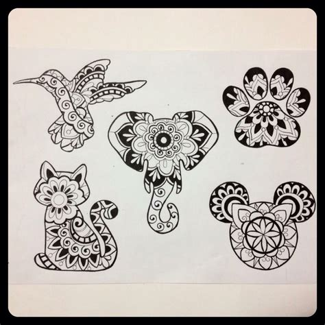 tattoo sheets designs mandala flash sheet tattoos tattoos