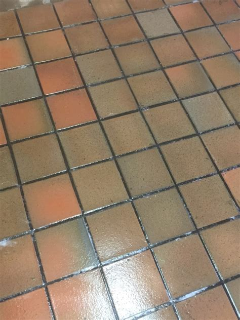 removing linoleum from quarry tiles in warwickshire quarry tiled floors cleaning and sealing