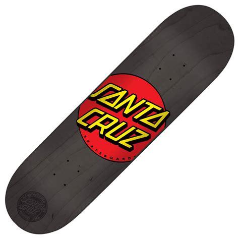skateboard decks uk santa skateboards classic dot black skateboard deck 8
